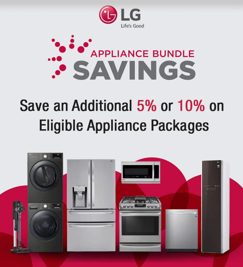 LG Black Friday Appliance Bundle